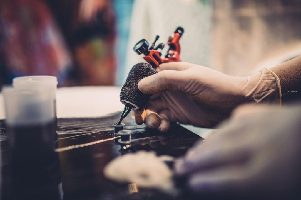 epis para estúdio de tatuagem